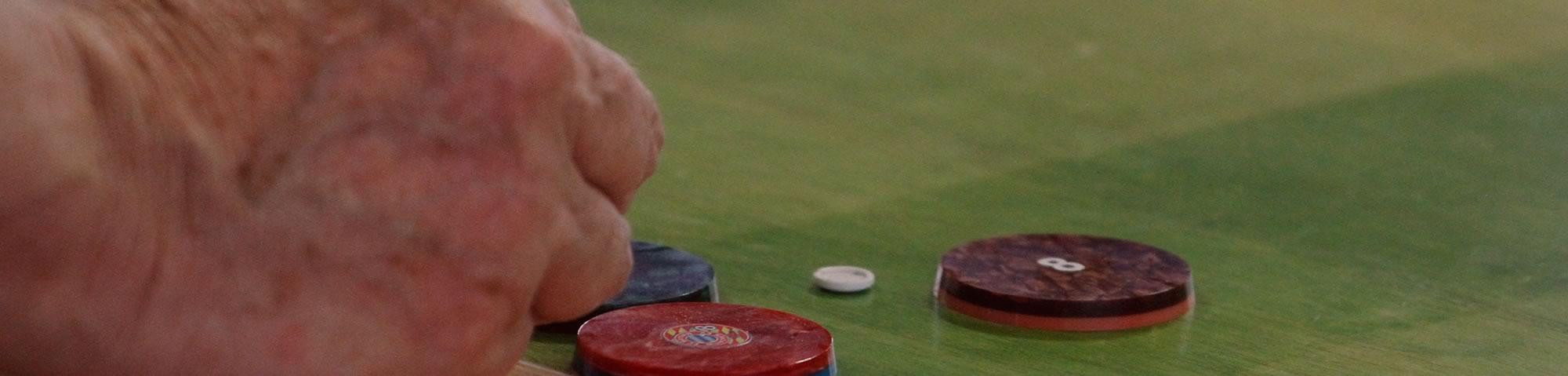 Futebol de botão em Ibiúna